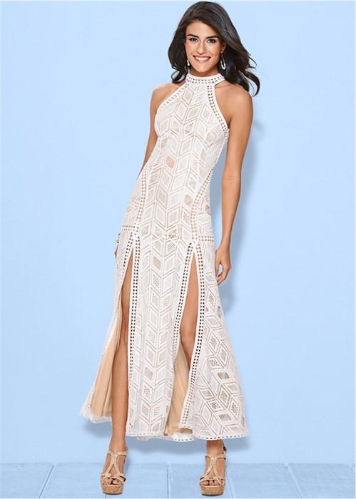 Платье Laced Maxi - фото 4493
