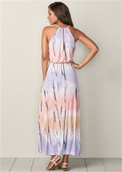 Платье Tie Dye - фото 4473