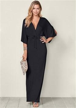 Платье Kimono Sleeve - фото 4485